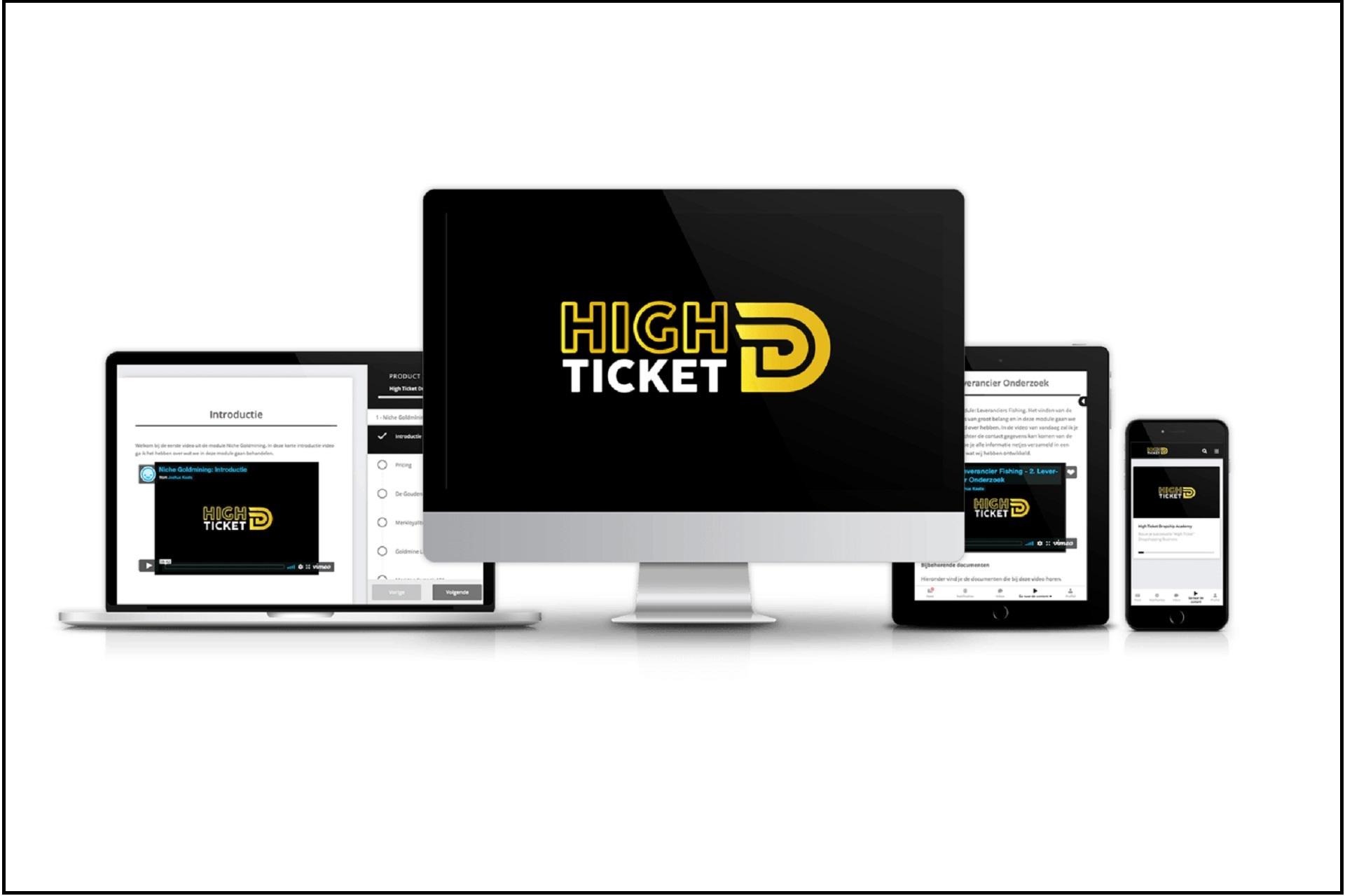 High Ticket Dropship Academy Kortingscode 2021
