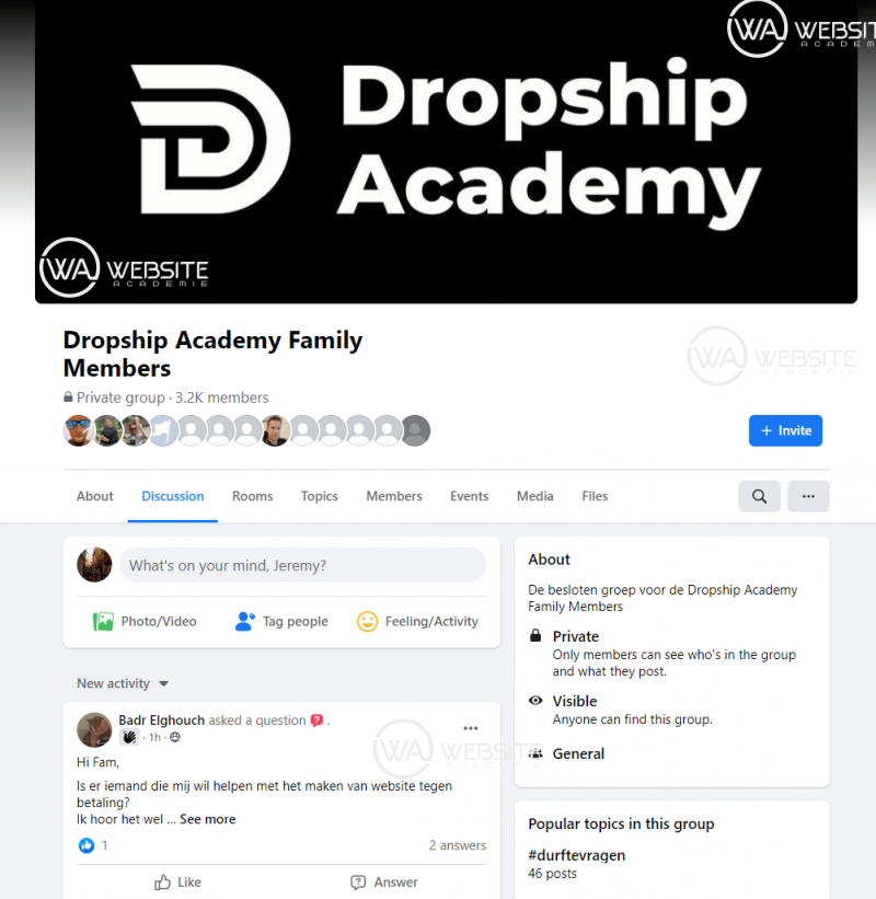 Dropship Academy Review Community