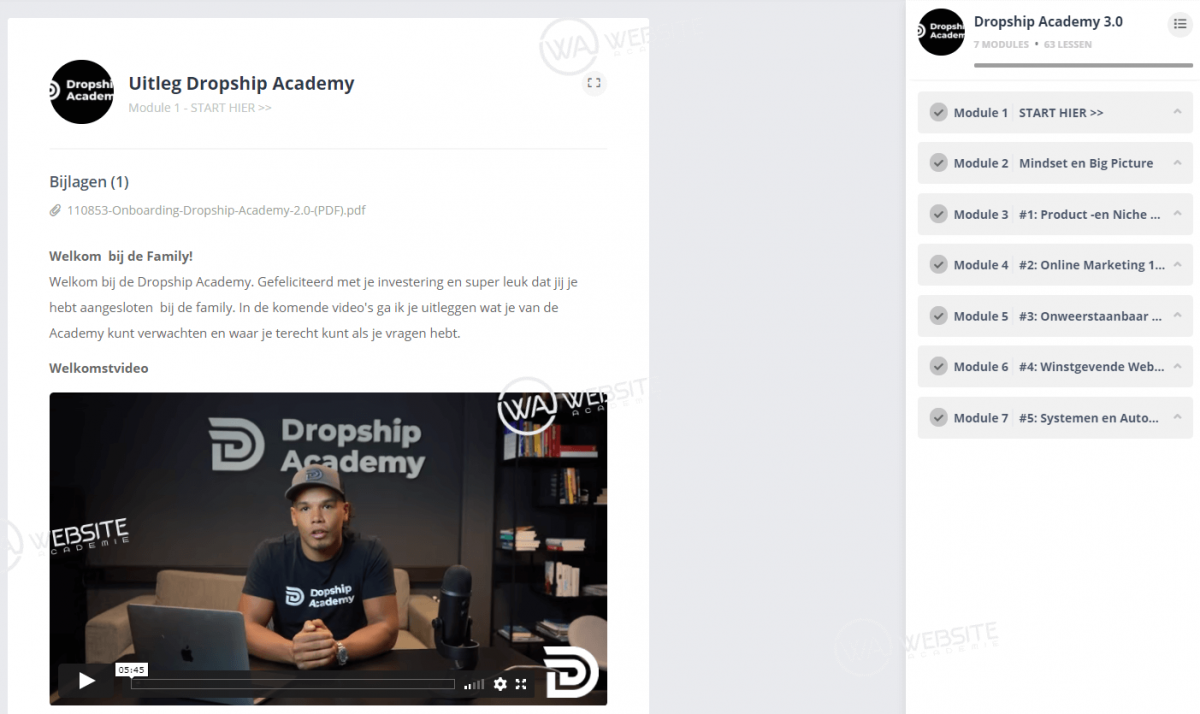 Groep Coaching door Dropship Academy